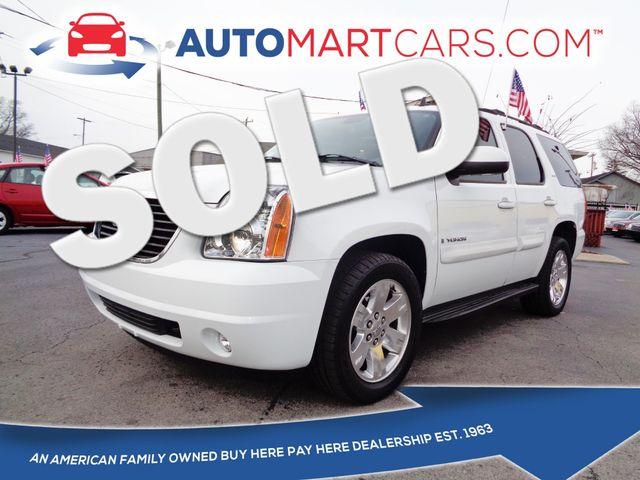 2007 GMC Yukon SLT   Nashville, Tennessee   Auto Mart Used Cars Inc. in Nashville Tennessee