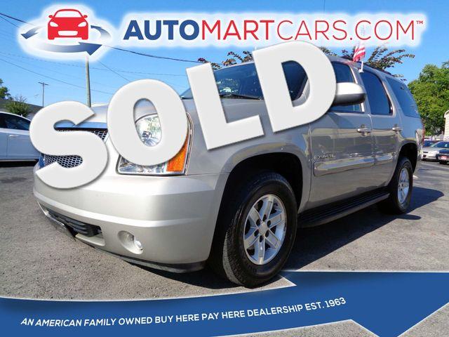 2007 GMC Yukon SLT | Nashville, Tennessee | Auto Mart Used Cars Inc. in Nashville Tennessee