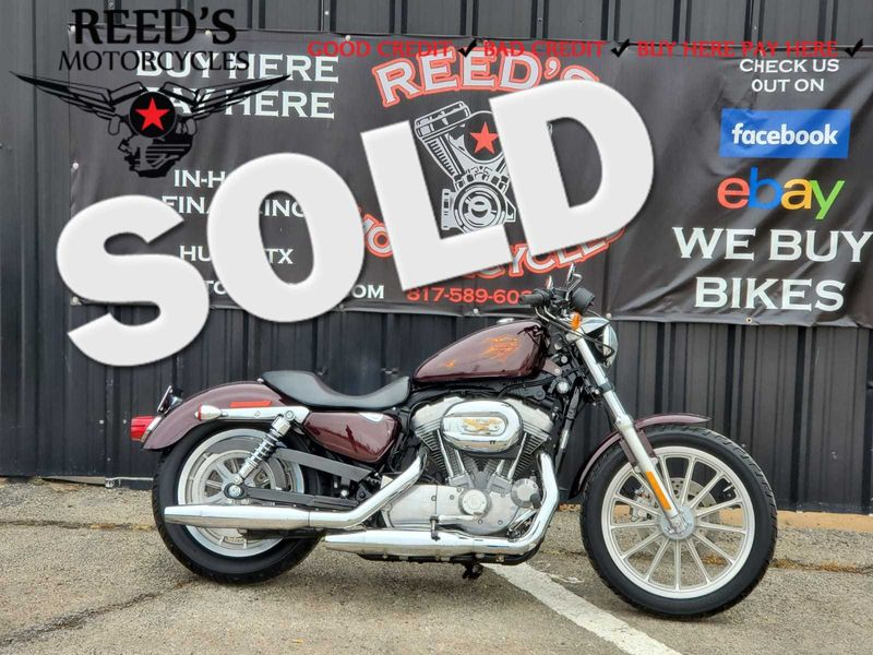 2007 Harley Davidson Sportster 883L Low XL883L | Hurst, Texas | Reed's Motorcycles in Hurst Texas