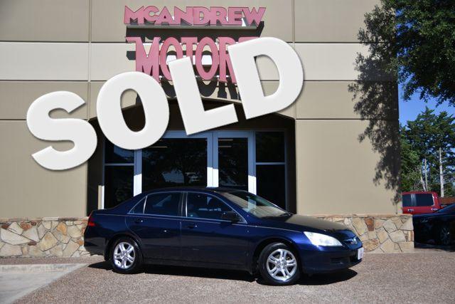 2007 Honda Accord LX SE Clean Carfax