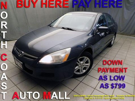 2007 Honda Accord LX SE As low as $799 DOWN in Cleveland, Ohio
