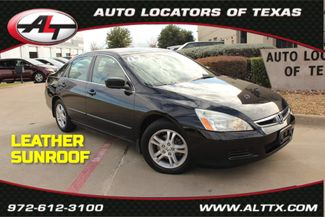 2007 Honda Accord EX with LEATHER and POWER SUNROOF in Plano, TX 75093