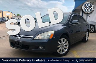 2007 Honda Accord EX-L LEATHER NAV BACKUP SENSORS CLEAN CARFAX NICE! in Rowlett