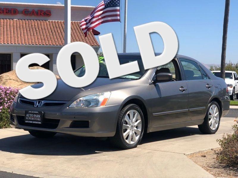 2007 Honda Accord EX-L | San Luis Obispo, CA | Auto Park Sales & Service in San Luis Obispo CA