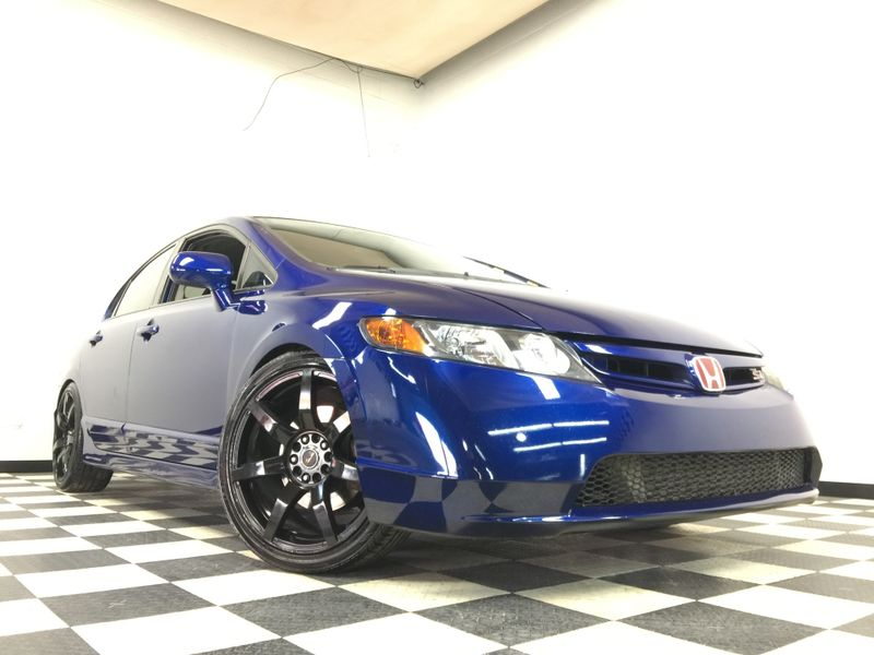 2007 Honda Civic *Turbo Charged*Electric Blue*   The Auto Cave in Addison