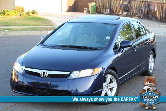 2007 Honda CIVIC EX SEDAN AUTOMATIC 75K MLS ALLY WHLS SERVICE RECORDS