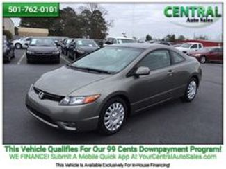 2007 Honda Civic LX | Hot Springs, AR | Central Auto Sales in Hot Springs AR