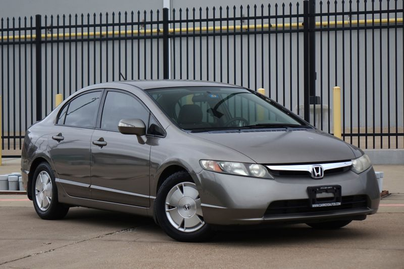2007 Honda Civic Hybrid   Plano, TX   Carrick's Autos in Plano TX