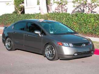 2007 Honda Civic Si Sedan Navigation Leather Only 2300 Miles Great Mods As New Condition  city California  Auto Fitnesse  in , California