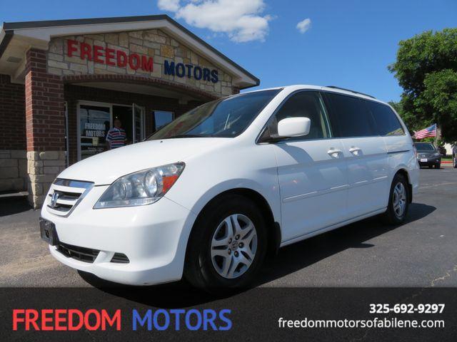 2007 Honda Odyssey EX-L w/ Sunroof & Rear Entertainment   Abilene, Texas   Freedom Motors  in Abilene,Tx Texas