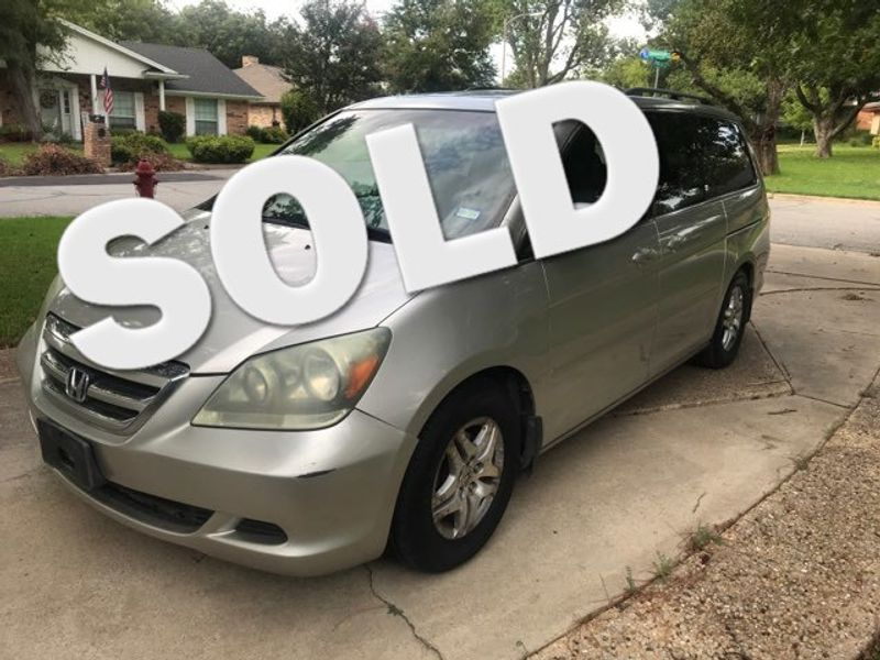 2007 Honda Odyssey EX-L Excellent Condition DVD Electric Doors Sunroo | Ft. Worth, TX | Auto World Sales in Ft. Worth TX
