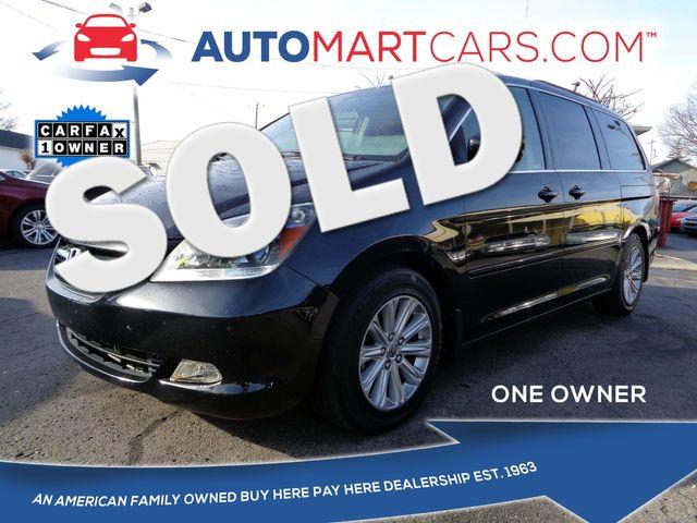 2007 Honda Odyssey Touring | Nashville, Tennessee | Auto Mart Used Cars Inc. in Nashville Tennessee