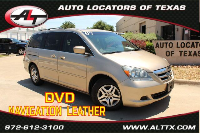 2007 Honda Odyssey EX-L with DVD and NAVIGATION in Plano, TX 75093