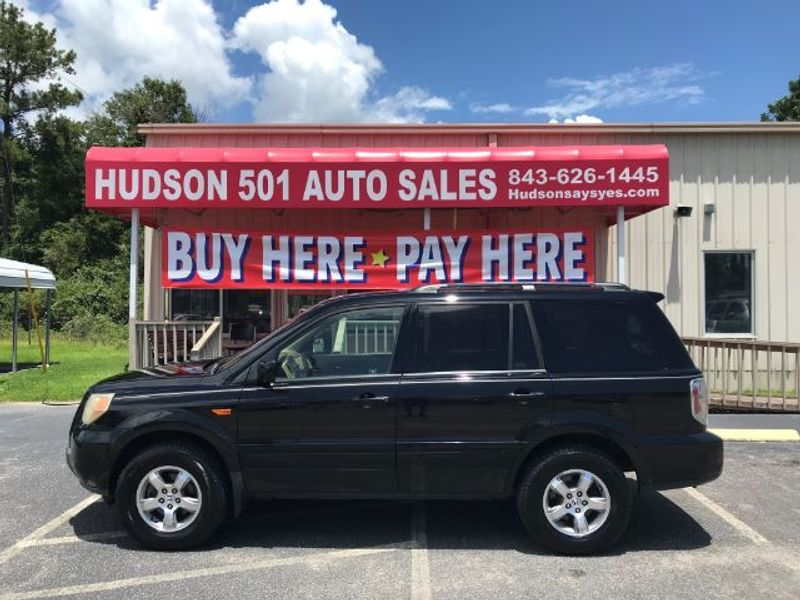 2007 Honda Pilot EX-L   Myrtle Beach, South Carolina   Hudson Auto Sales in Myrtle Beach South Carolina