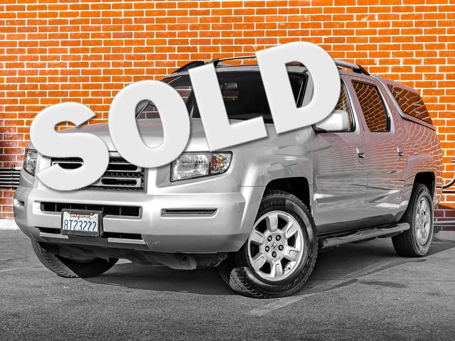 2007 Honda Ridgeline RTL w/Leather & Navi Burbank, CA 0