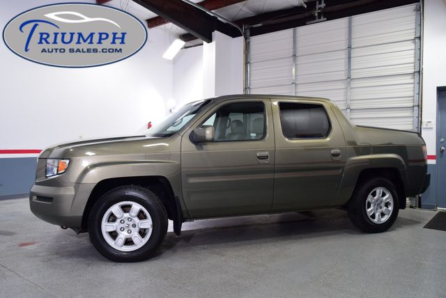 2007 Honda Ridgeline RTL w/Leather & NAV