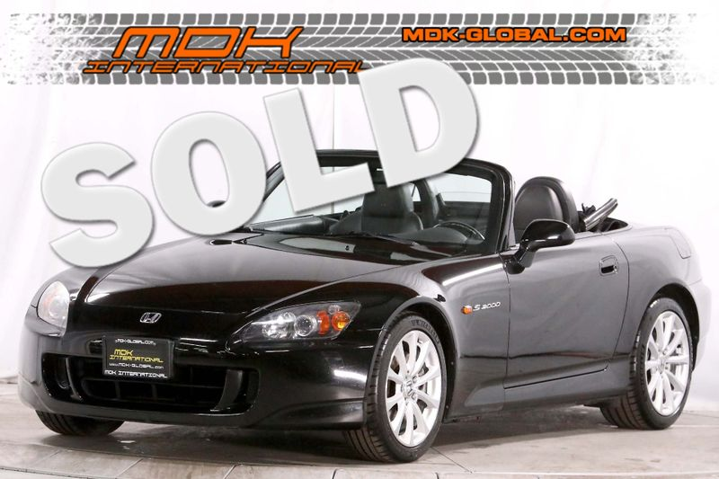 2007 Honda S2000 - AP2 - Traction control - Only 57K miles  city California  MDK International  in Los Angeles, California