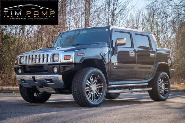 2007 Hummer H2 SUT SUNROOF LEATHER SEATS