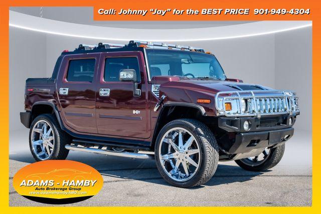 2007 Hummer H2 SUT, Luxury Pkg, NAV, Chrome Pkg, XM Radio