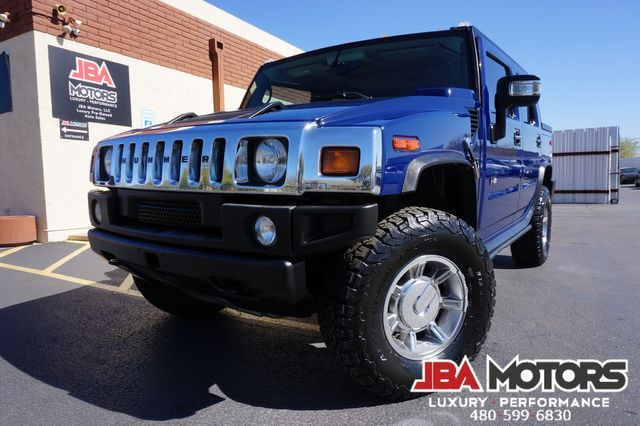 2007 Hummer H2 SUT 4WD Luxury Package Navigation Rear Seat DVD