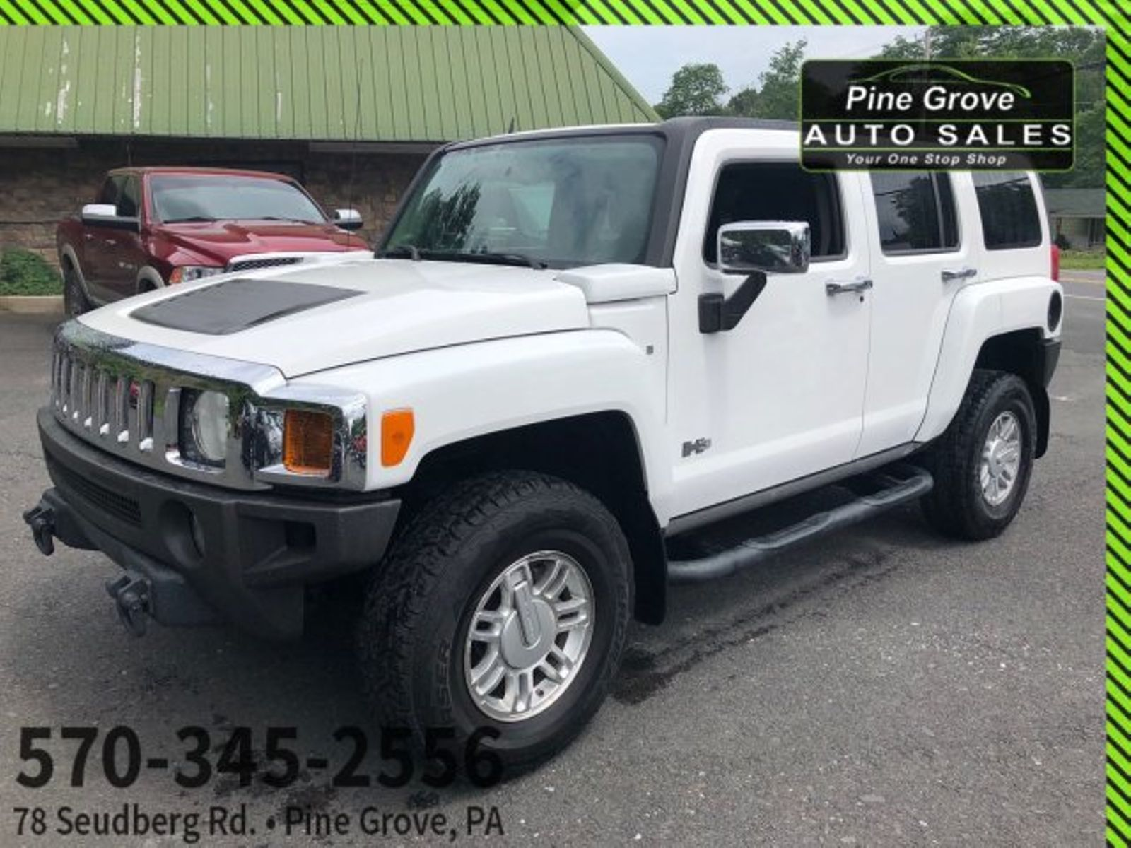 2007 Hummer H3 SUV | Pine Grove, PA | Pine Grove Auto Sales in Pine ...