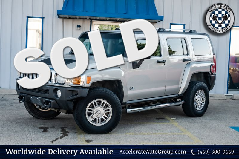 2007 Hummer H3 3.7L LUX PKG 4X4 LEATHER 1-OWNER CLEAN CARFAX in Rowlett Texas