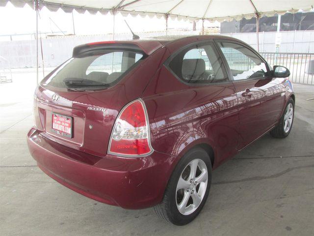 2007 Hyundai Accent SE Gardena, California 2