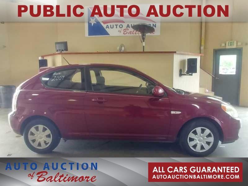 2007 Hyundai Accent GS | JOPPA, MD | Auto Auction of Baltimore  in JOPPA MD