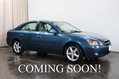 2007 Hyundai Sonata SE V6 w/Premium Pkg, Power Moonroof Heated Seats & Pioneer Audio w/Bluetooth Streaming in Eau Claire