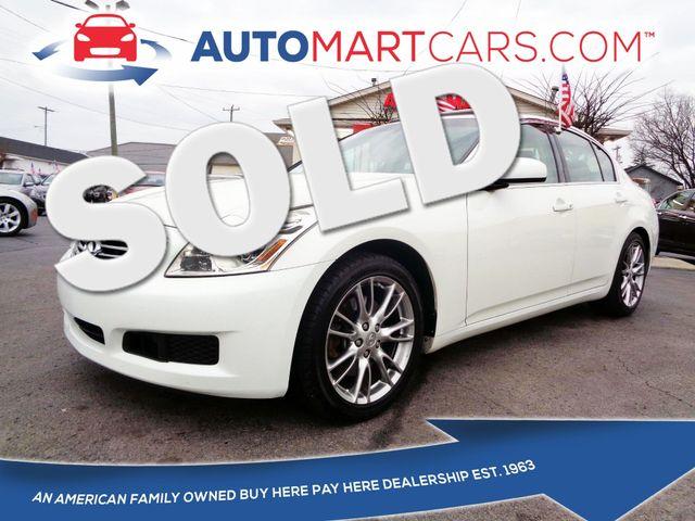 2007 Infiniti G35 Journey | Nashville, Tennessee | Auto Mart Used Cars Inc. in Nashville Tennessee