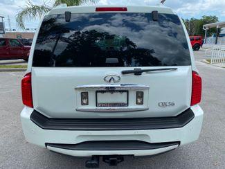 2007 Infiniti QX56 PEARL WHITE REAR ENTERTAINMENT MOONROOF CARFAX  Plant City Florida  Bayshore Automotive   in Plant City, Florida