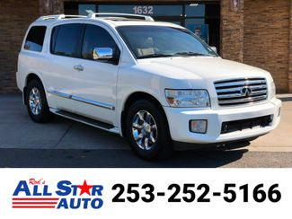 2007 Infiniti QX56 V8 RWD in Puyallup Washington, 98371