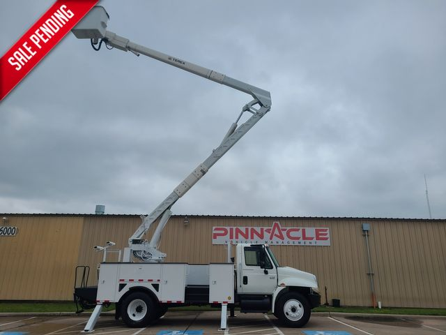 2007 International 4300 SBA 60FT MATERIAL HANDLER MATERIAL HANDLING DT 466 HI RANGER BUCKET TRUCK in Irving, TX 75039