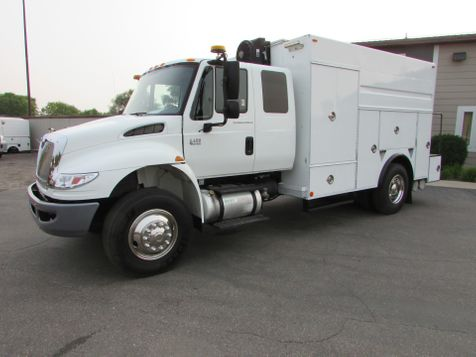 2007 International Durastar Ex-Cab Utility Truck  in St Cloud, MN