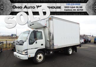 2007 Isuzu NQR Diesel 14 FT Refrigerated Box Truck Power Lift We Finance | Canton, Ohio | Ohio Auto Warehouse LLC in Canton Ohio