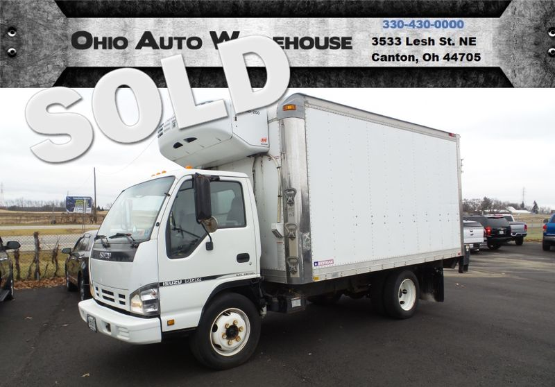 2007 Isuzu NQR Diesel 14 FT Refrigerated Box Truck Power Lift We Finance | Canton, Ohio | Ohio Auto Warehouse LLC in Canton Ohio
