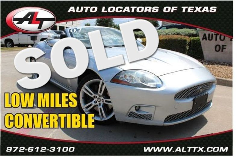 2007 Jaguar XK Series XKR   Plano, TX   Consign My Vehicle in Plano TX