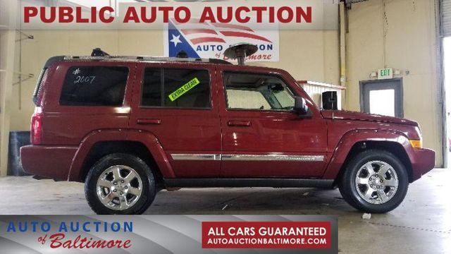 2007 Jeep Commander Limited   JOPPA, MD   Auto Auction of Baltimore  in Joppa MD