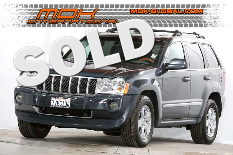 2007 Jeep Grand Cherokee Overland - 57L Hemi - 4WD - Loaded  city California  MDK International  in Los Angeles, California