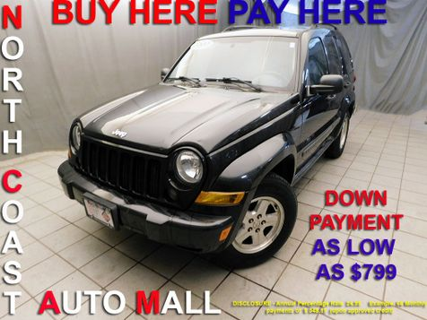 2007 Jeep Liberty Sport As low as $799 DOWN in Cleveland, Ohio