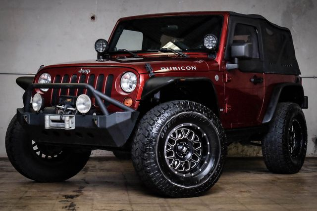 2007 Jeep Wrangler Rubicon 4X4 Sport Utility in Addison, TX 75001