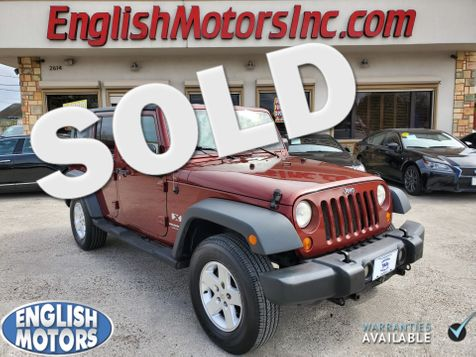 2007 Jeep Wrangler Unlimited X in Brownsville, TX