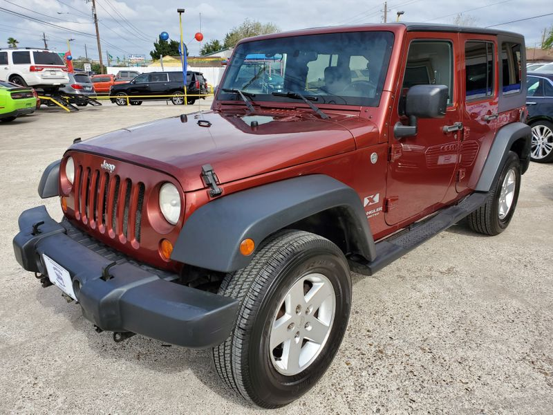 2007 Jeep Wrangler Unlimited X  Brownsville TX  English Motors  in Brownsville, TX