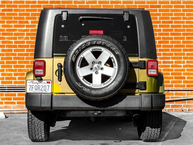 2007 Jeep Wrangler Sahara Burbank, CA 6