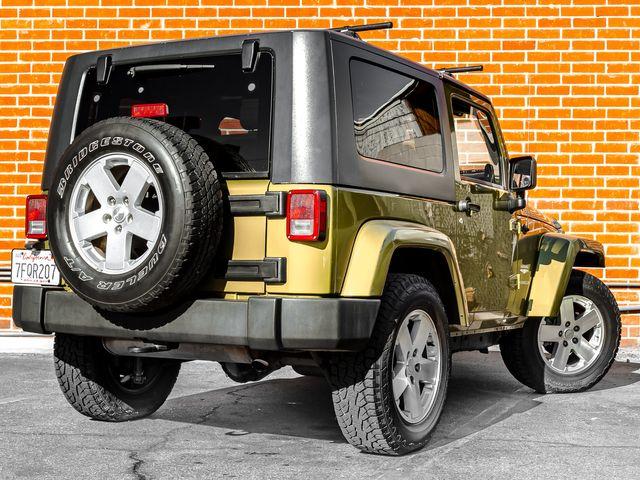 2007 Jeep Wrangler Sahara Burbank, CA 7
