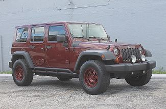 2007 Jeep Wrangler Unlimited X Hollywood, Florida 11