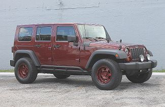 2007 Jeep Wrangler Unlimited X Hollywood, Florida 1