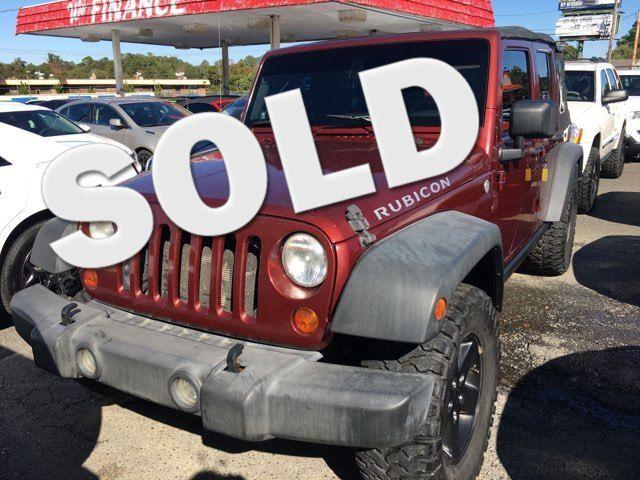 2007 Jeep Wrangler Unlimited Rubicon - John Gibson Auto Sales Hot Springs in Hot Springs Arkansas