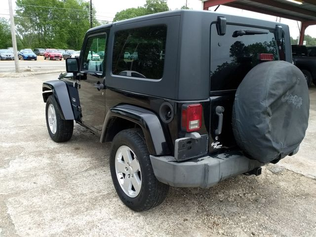 2007 Jeep Wrangler Sahara Houston, Mississippi 4