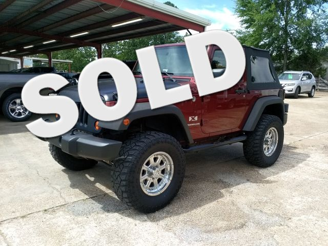 2007 Jeep Wrangler X Houston, Mississippi
